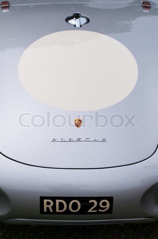 Porsche Zeichen Stockfoto Colourbox