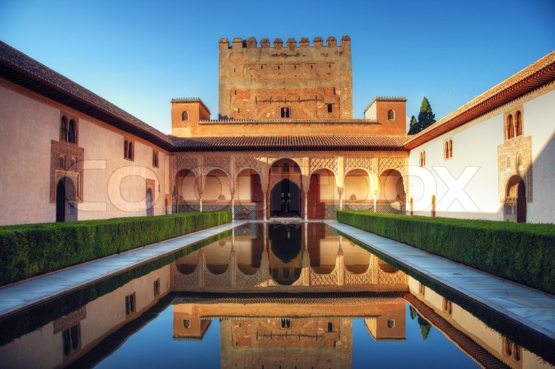 Alhambra palace, Granada, Spain | Stock image | Colourbox