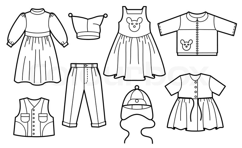 Umbrella Coloring Page also White Dress Clipart further Costume Clipart Clothes additionally Coloring Pages Of A Boy Looking Through Binoculars together with Drawn Pear Pear Fruit. on summer clothes coloring clipart