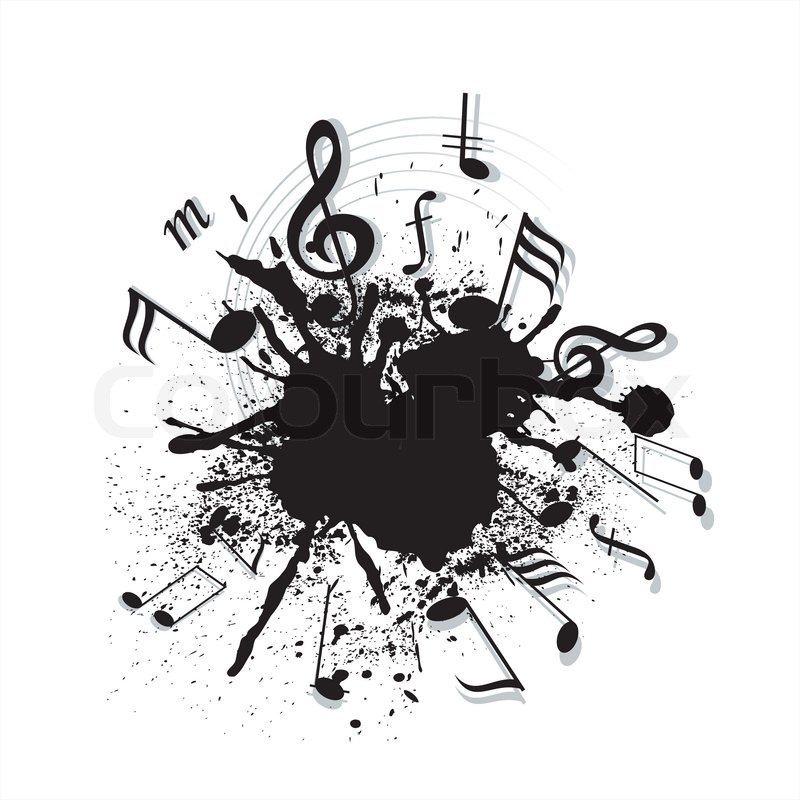 Arts Music Photography: Music Notes Twisted Into A Spiral