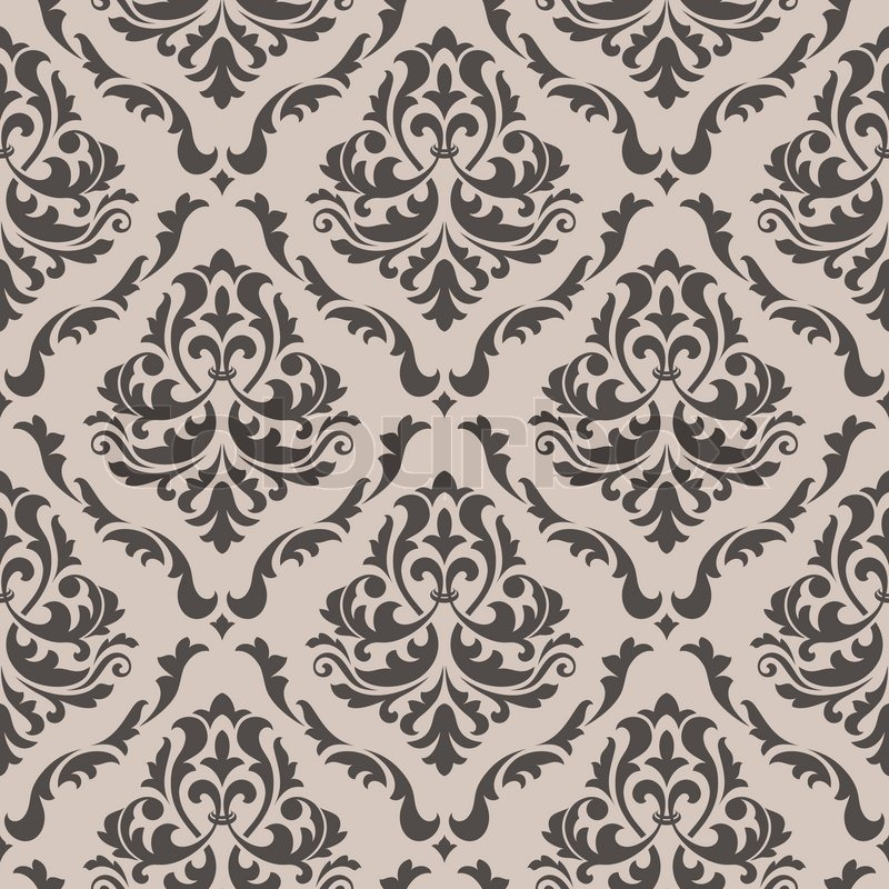 victorian wallpaper texture  Seamless background in victorian style | Stock Vector | Colourbox
