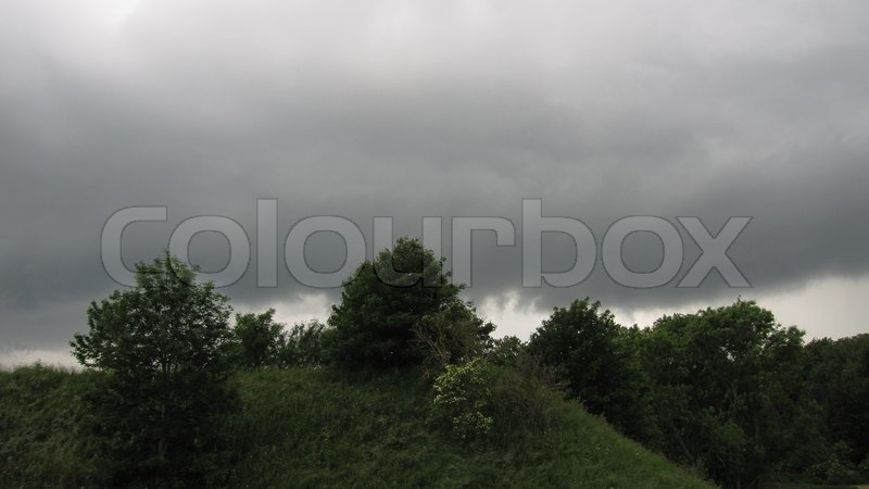Stock image of \'torrential rain, weather, landscape\'