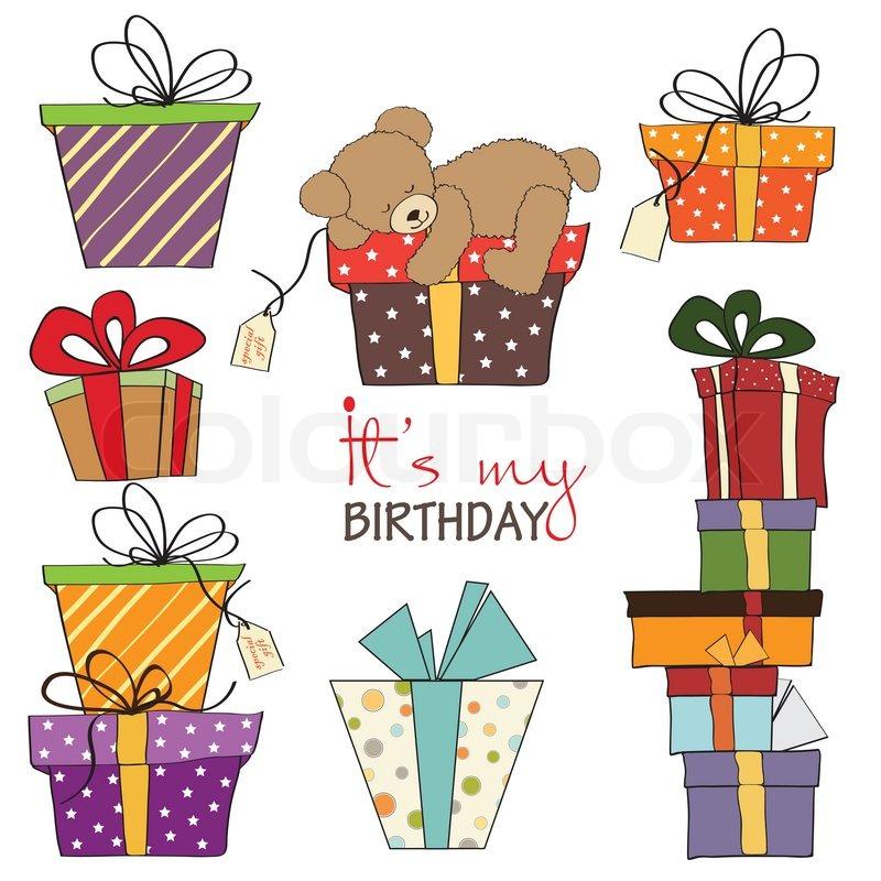 tegninger af fødselsdag