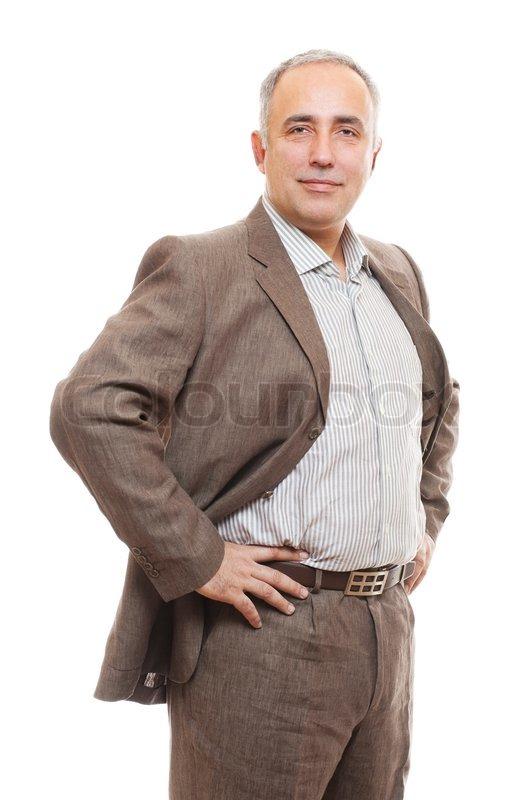 Stock image of 'Senior business man'