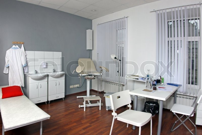 Stock image of 'Gynecologist's office'