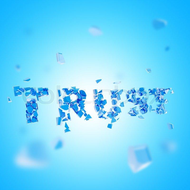 Broken Trust in Blue image