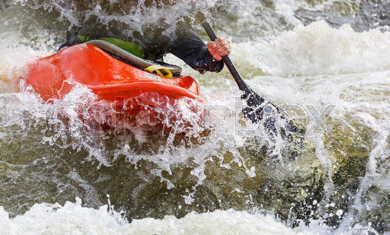Whitewater kayaking, extreme kayaking ...
