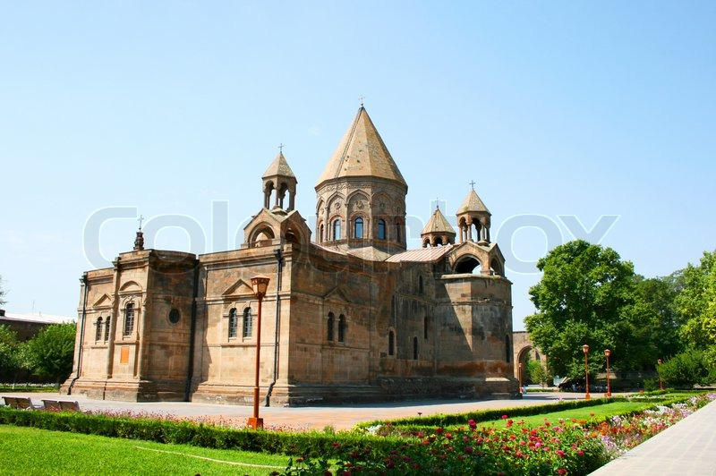 Stock image of 'Ancient Apostolic church in Armenia'
