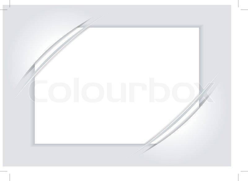 Blank White Sheet Of Paper