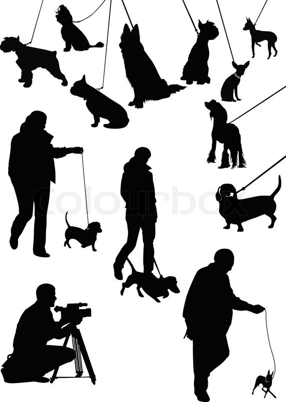 Exhibition D Vector : Quot ausstellung der hunde tiere vektorgrafik colourbox