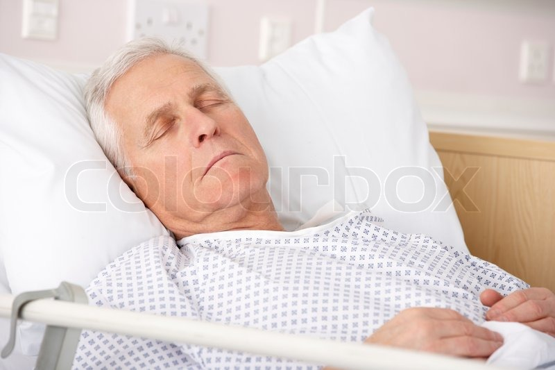 Picture Of Sick Person In Hospital Bed : ... -person-in-sick-death-bed-with-people-bedside-1867-magazine.php
