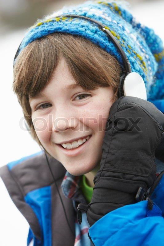 boy winter