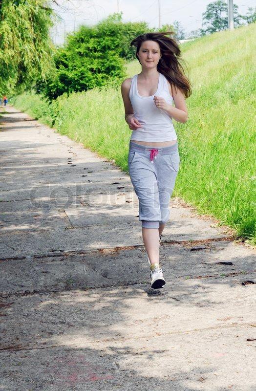 images of girls jogging № 13153