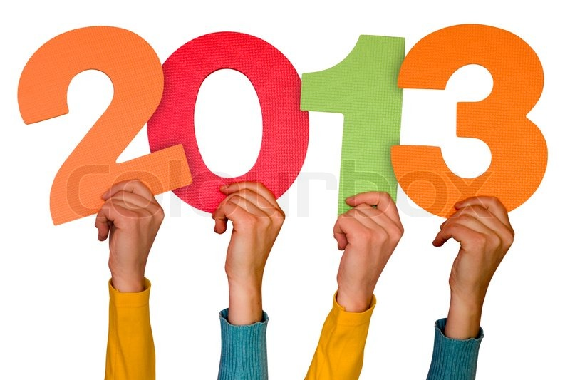 Year Wallpapers 2013 on Stock Image Of  Hands With Numbers Shows Year 2013