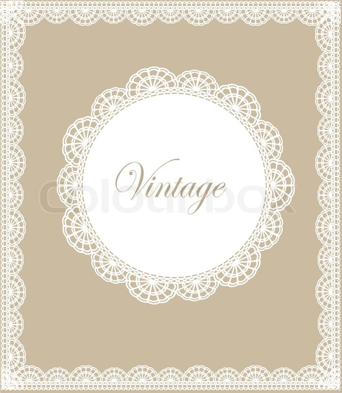 lace border vector illustration stock vector colourbox rh colourbox com lace border vector png lace border vector free