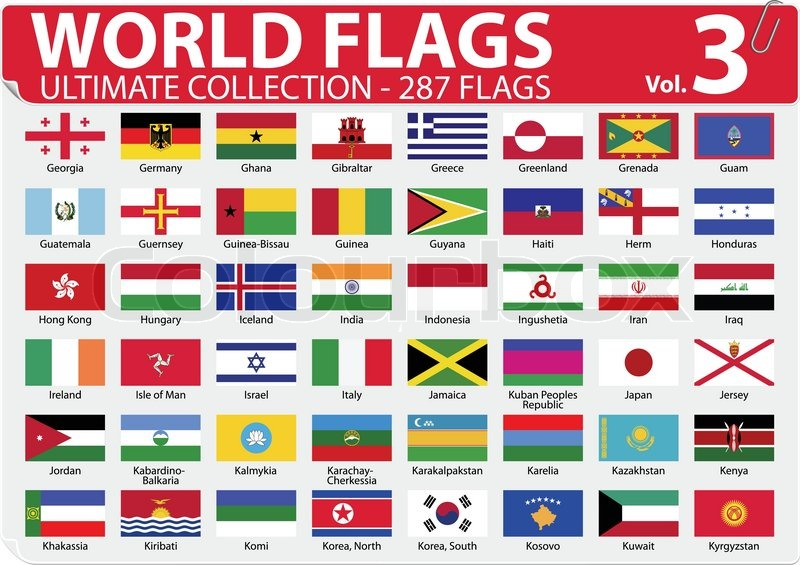 World Flags Ultimate Collection 287 Flags Volume 3