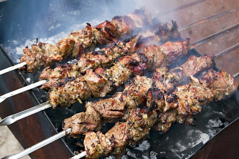 how to cook gyro meat on a spit