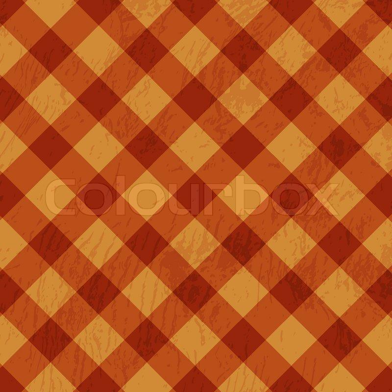 Retro Tablecloth Texture Stock Vector Colourbox
