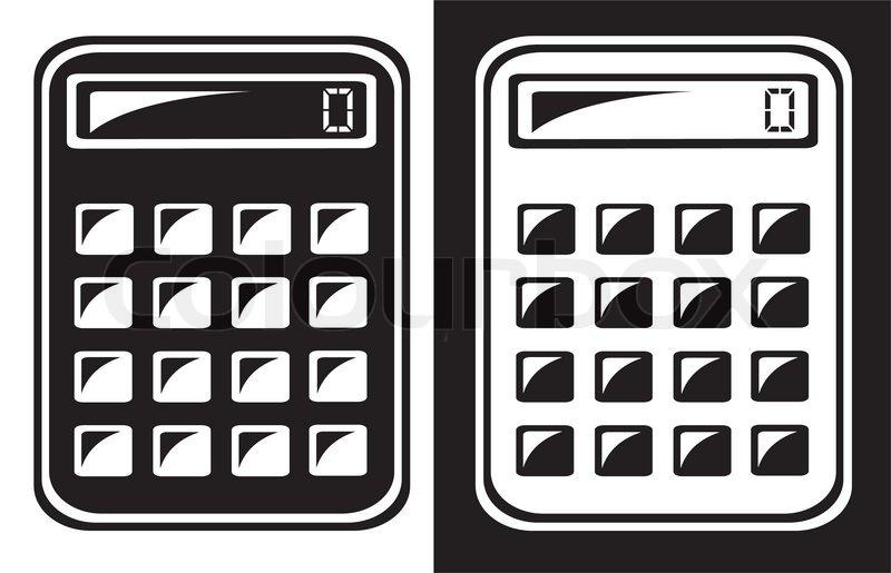 Calculator icon | Stock Vector | Colourbox