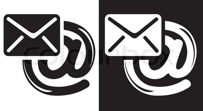 Email Icon Stock Vector Colourbox