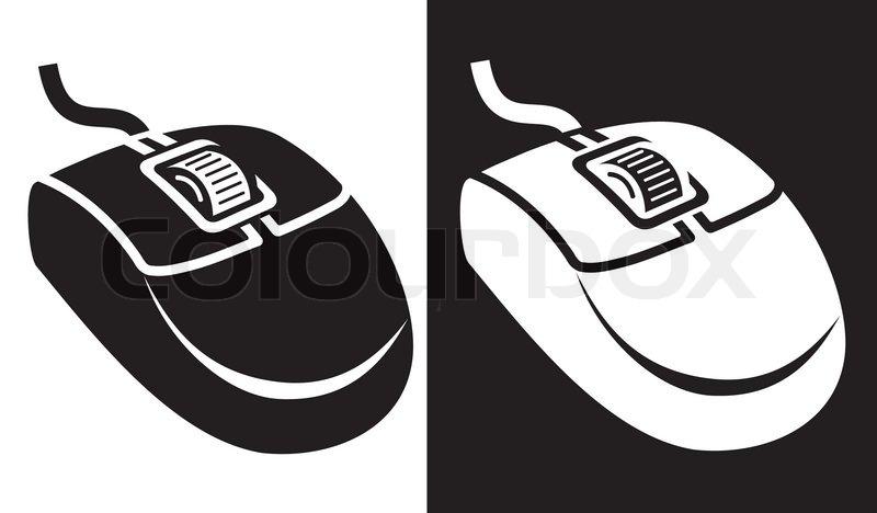 Maus-Symbol | Vektorgrafik | Colourbox