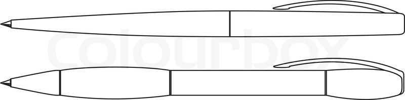 Pen Vector Outline
