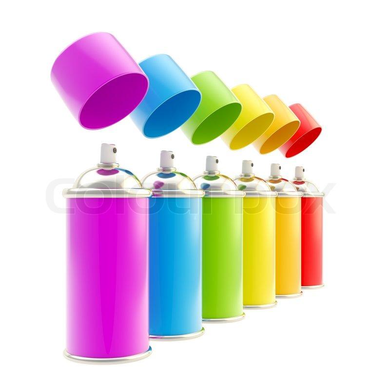 Graffiti Yellow Spray Paint Plastic