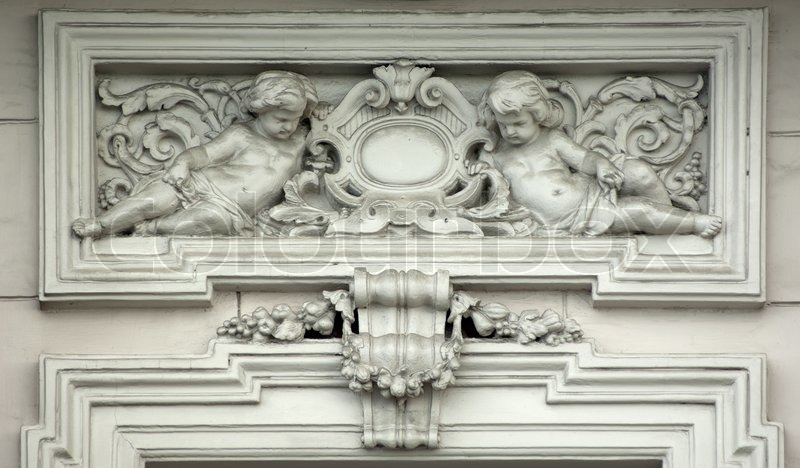 Architectural Frieze With Angels