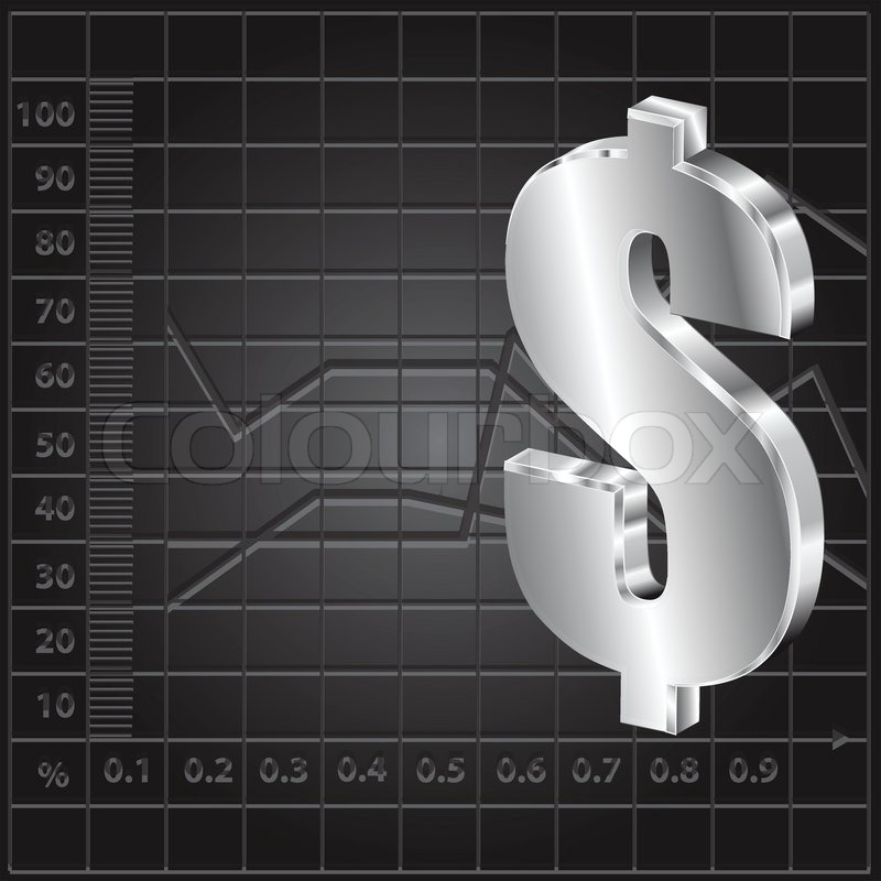 Finance Background: Financial Background With Dollar