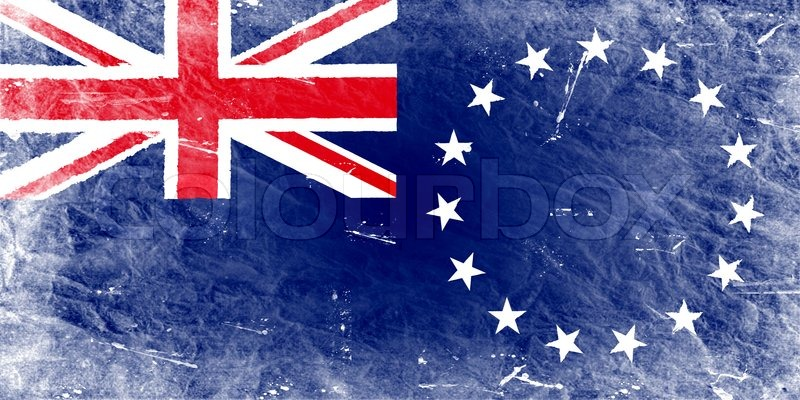 The Cook Islands Flag Stock Photo Colourbox