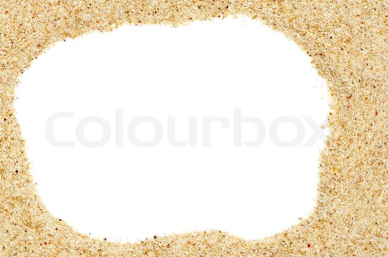 beach sand frame