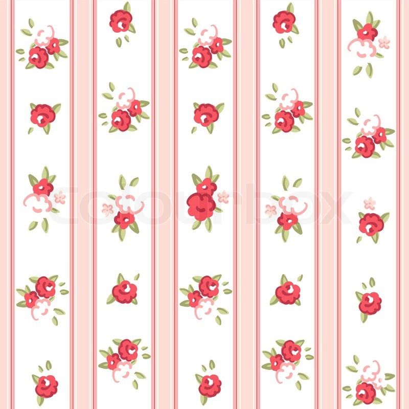Vintage rose pattern Seamless vector Rose wallpaper ...