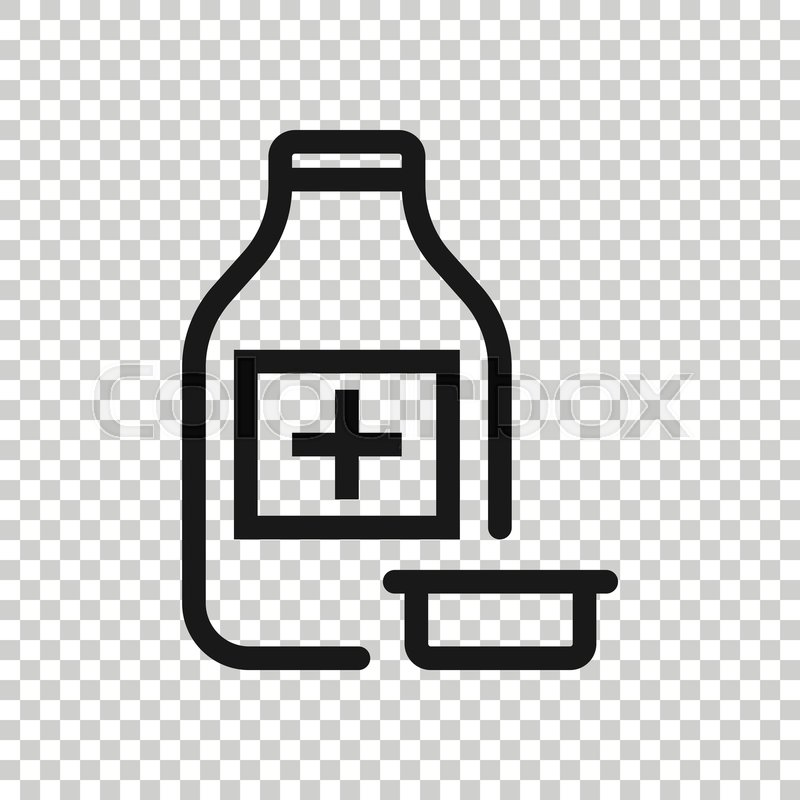 pill bottle icon in flat style drugs stock vector colourbox pill bottle icon in flat style drugs