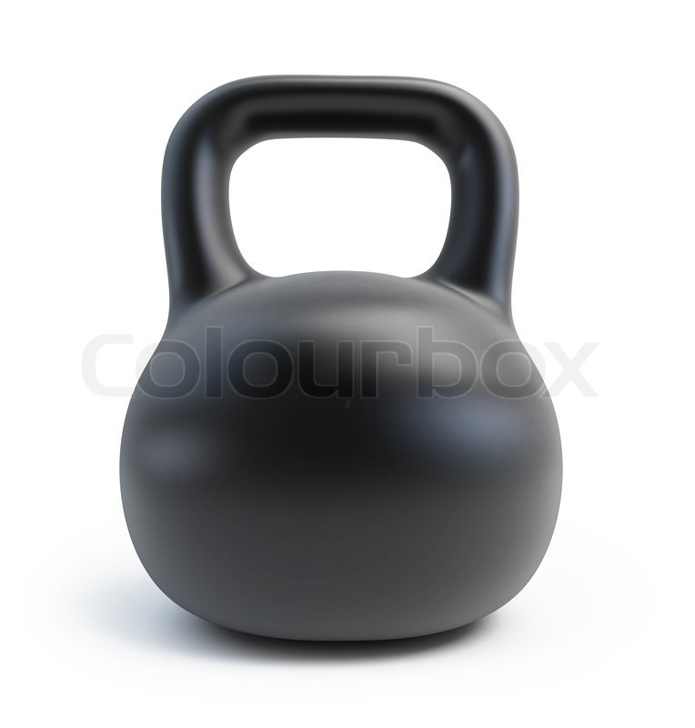 Stock image of 'Dumbbell Weights'