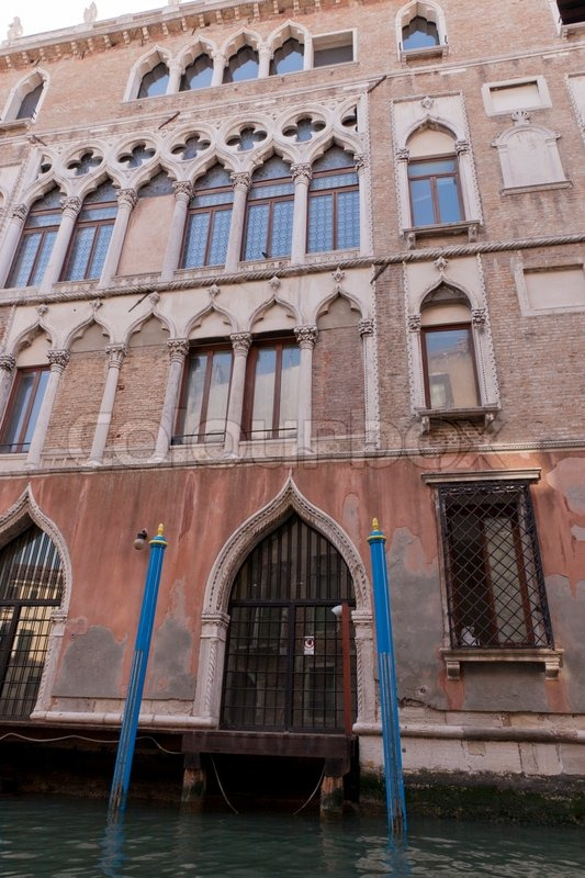 Casanova House In Venice Italy Stock Photo Colourbox