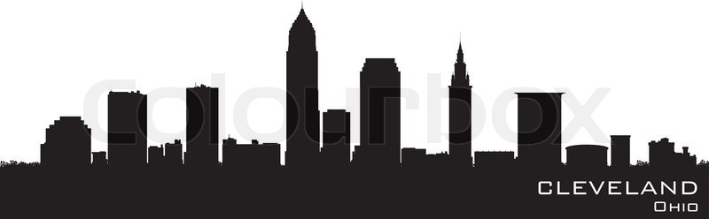 Cleveland Ohio Detailed Vector Silhouette Stock Vector Math Wallpaper Golden Find Free HD for Desktop [pastnedes.tk]