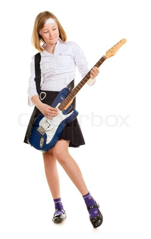 Teen Girl Rockstar | Stock Photo | Colourbox | 506 x 800 jpeg 41kB