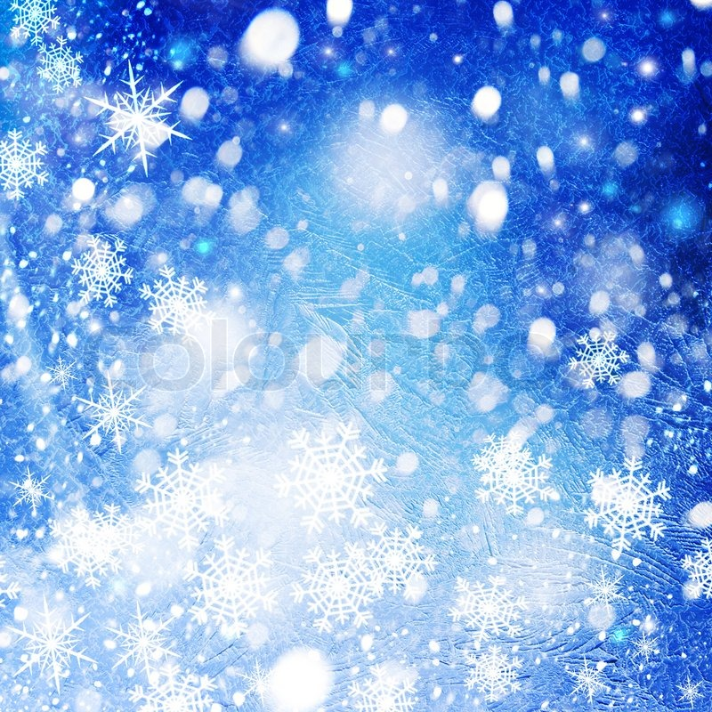 Abstract christmas backgrounds with cool bokeh and ice texture ...