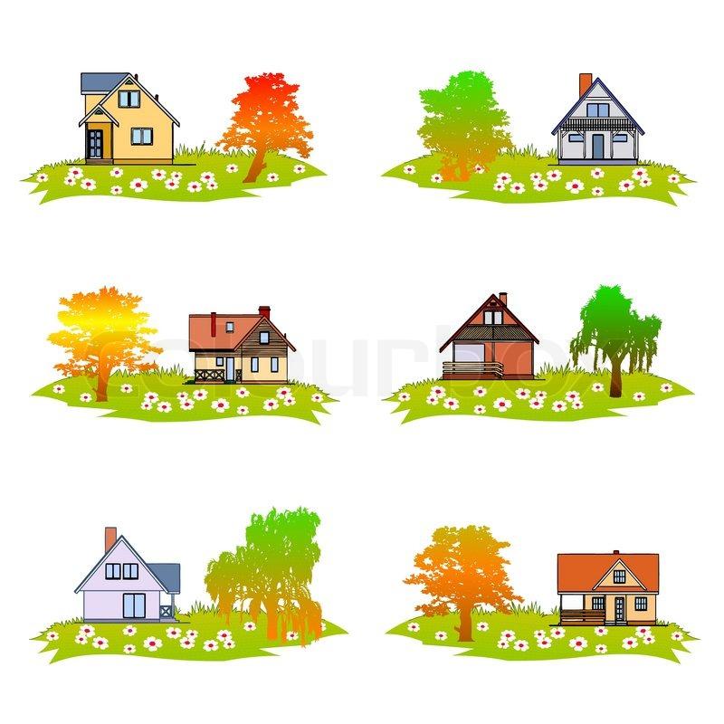 Home And Garden   Vector, Vector
