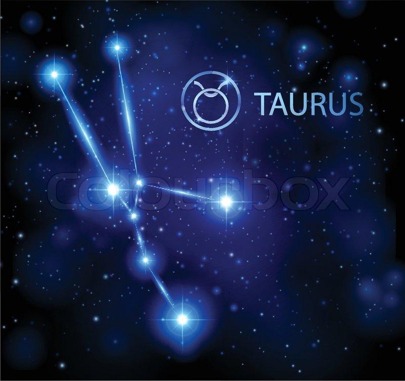16f96081f Abstract background - night sky stars ... | Stock vector | Colourbox