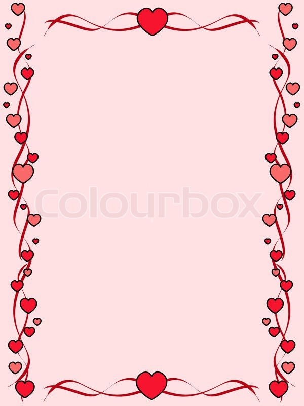 rosa hintergrund mit ornament rahmen vektorgrafik colourbox. Black Bedroom Furniture Sets. Home Design Ideas