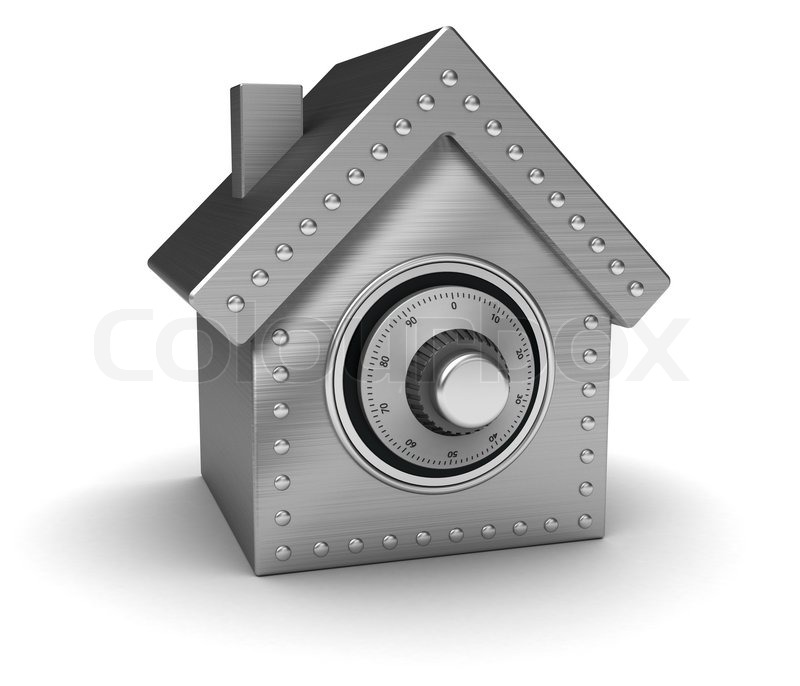 Stock image of 'House safe'