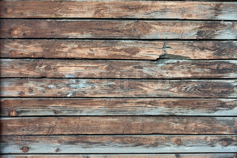 Old Grunge Wood Panels Used As Background Stock Photo