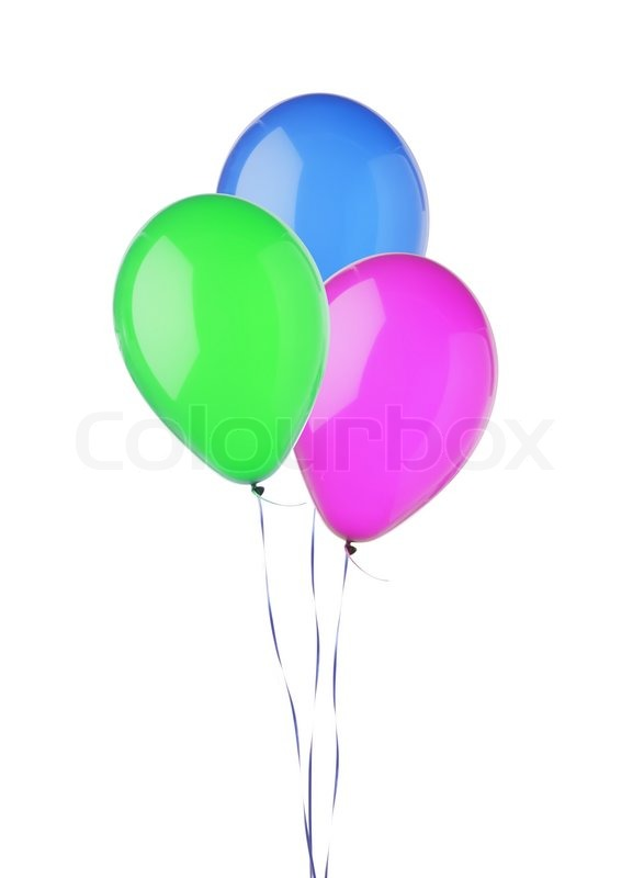 4394696 bunch of colorful flying balloons isolated on white birthday cake pictures to print and colour 6 on birthday cake pictures to print and colour