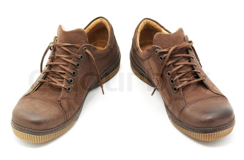 Paar Schuhe stock abbildung. Illustration von schuhe, paar