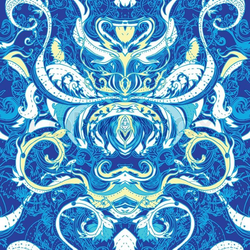 Indian Floral Pattern   Joy Studio Design Gallery - Best Design