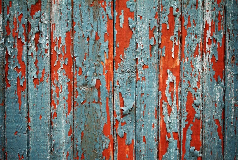 Weathered Wooden Fence Background Stock Photo Colourbox
