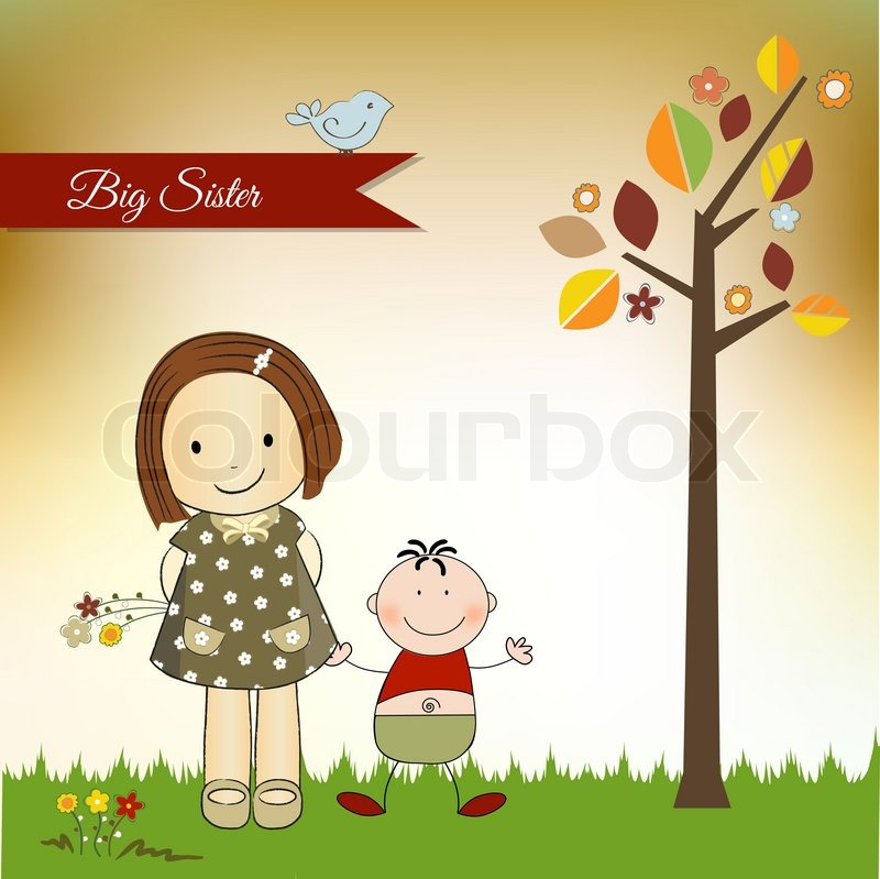 New baby greeting card stock vector colourbox m4hsunfo