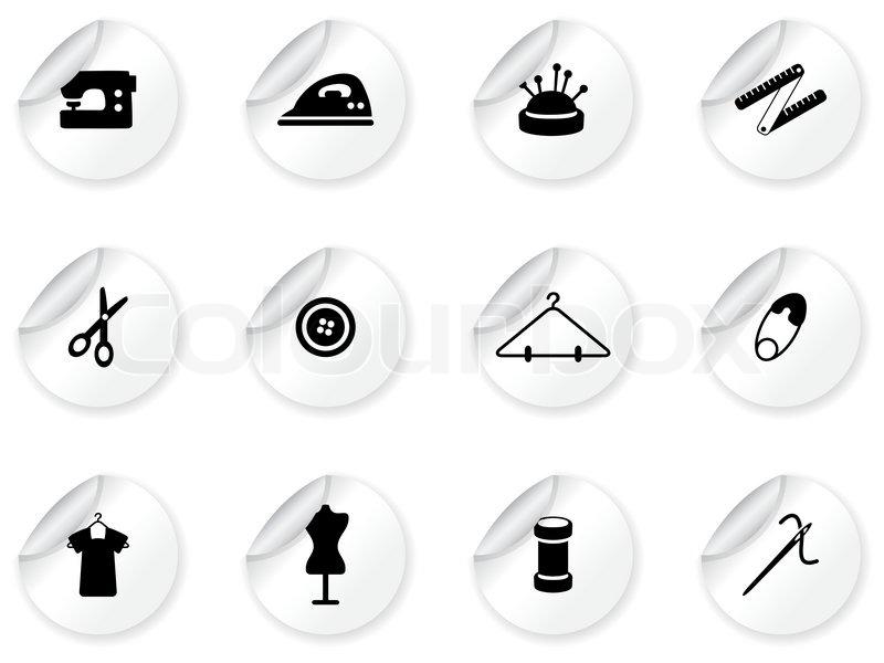 Symbol Fashion Icon Stock Vector Colourbox