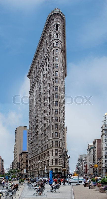new york sehensw rdigkeiten flatiron buildingnew york sehensw rdigkeiten stock foto. Black Bedroom Furniture Sets. Home Design Ideas